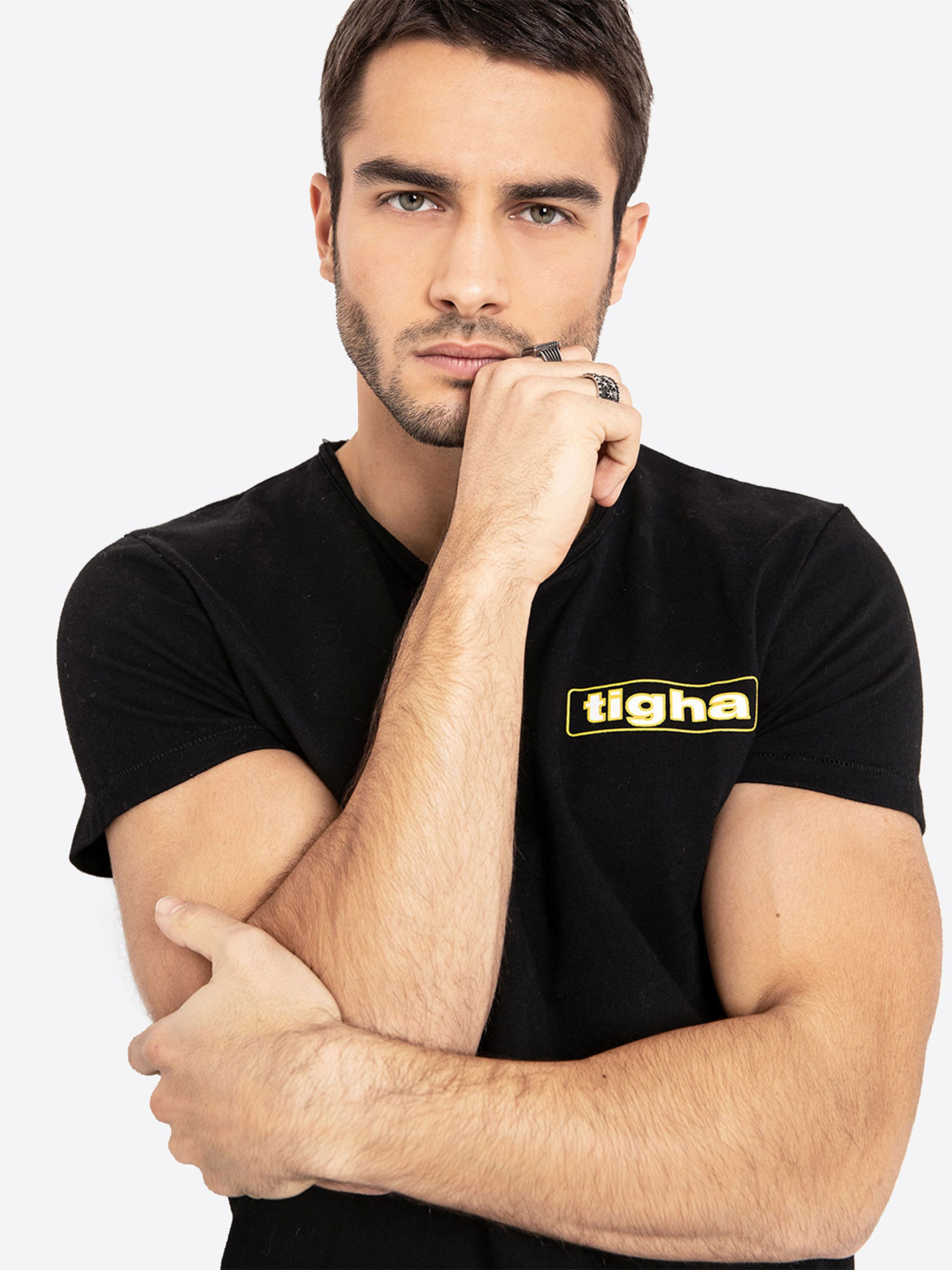 Shirt GelbSchwarz 'meo' Tigha Shirt Shirt GelbSchwarz 'meo' Tigha 'meo' In Tigha In In uikTOPXZ