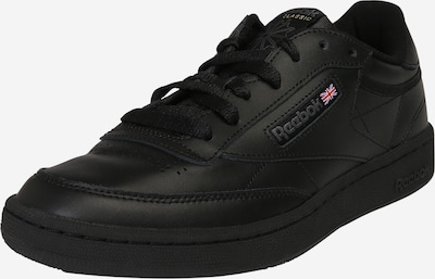 fekete Reebok Classic Rövid szárú edzőcipők 'Club C 85', Termék nézet