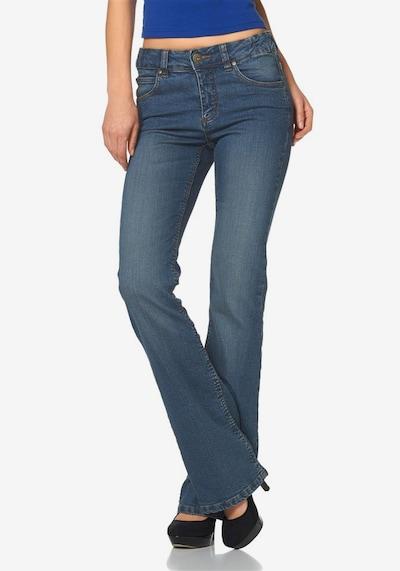 ARIZONA Jeans »Svenja« in blue denim, Modelansicht