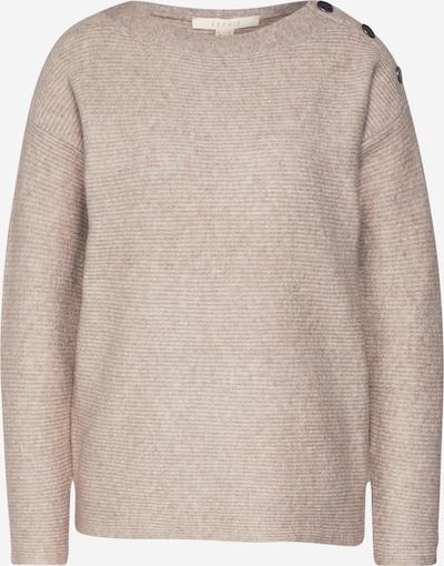 ESPRIT Pullover  'sweater struct' in beige, Produktansicht