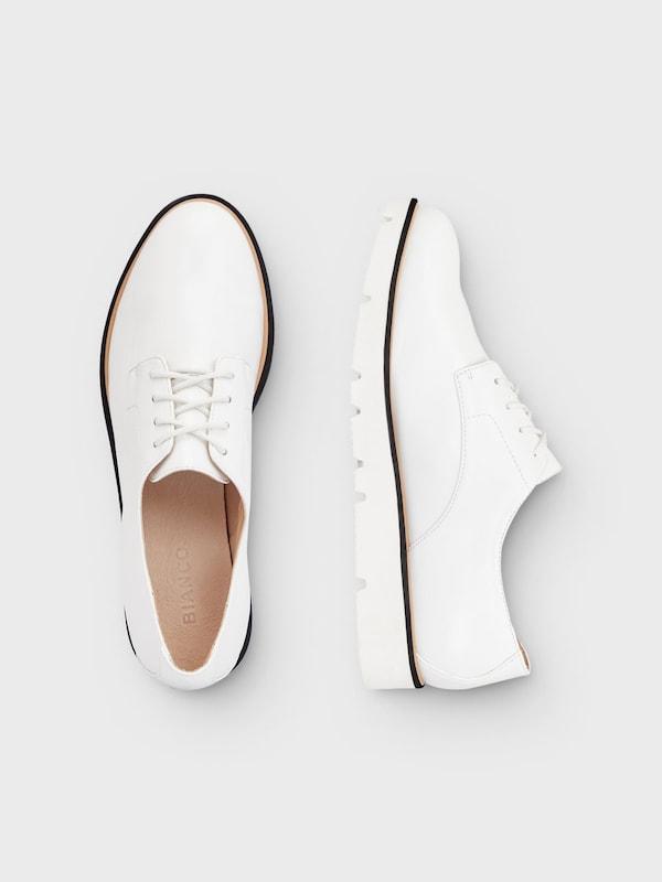 Bianco Lace Up Shoes