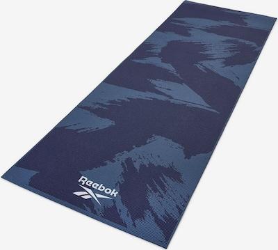 REEBOK Yogamatte in blau / dunkelblau / weiß, Produktansicht