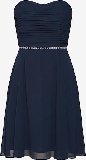 STAR NIGHT Robe de cocktail 'short dress (strapless) chiffon & pearls' en bleu marine, Vue avec produit