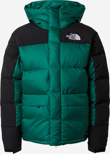 THE NORTH FACE Outdoorjas 'M HMLYN DOWN PARKA' in de kleur Groen / Zwart, Productweergave
