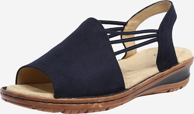 ARA Sandales à lanières 'Scala' en bleu / marron, Vue avec produit
