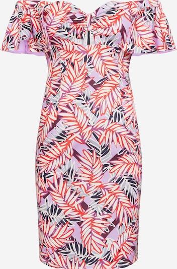 GUESS Kleid 'CLARA' in lila / rot / weiß, Produktansicht
