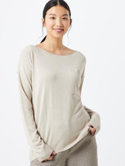 ESPRIT Pullover  'Utility' in beige, Modelansicht
