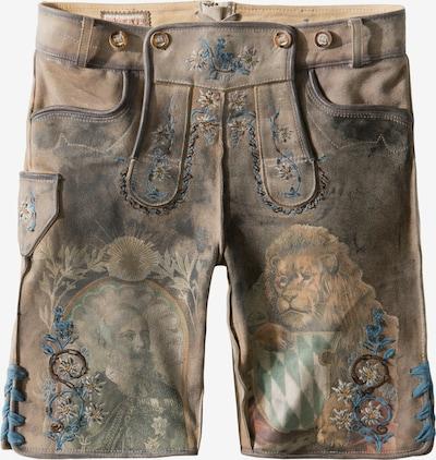 STOCKERPOINT Klederdracht broek 'Luitpold' in de kleur Bruin, Productweergave