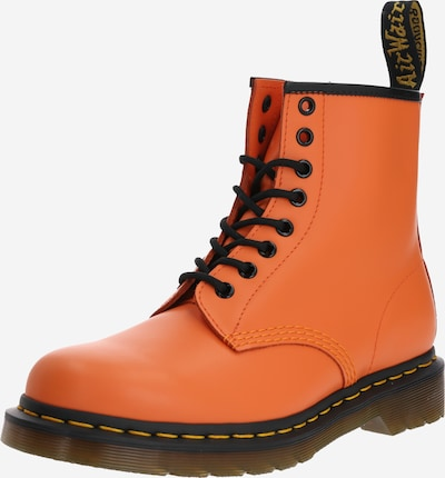 Dr. Martens Bottines à lacets '1460 Smooth' en orange / noir, Vue avec produit