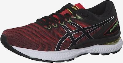 ASICS Laufschuhe 'Gel-Nimbus 22' in rot / schwarz, Produktansicht