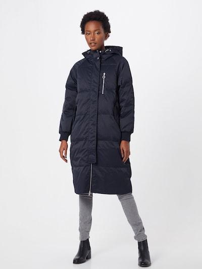 GAP Płaszcz zimowy 'TB OC OVSZ LONG DOWN JKT' w kolorze czarnym, Podgląd na modelu(-ce)