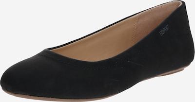 ESPRIT Balerīntipa apavi 'Alya' pieejami melns, Preces skats