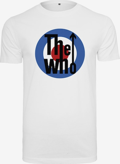 Mister Tee T-Shirt 'The Who' in mischfarben / weiß: Frontalansicht