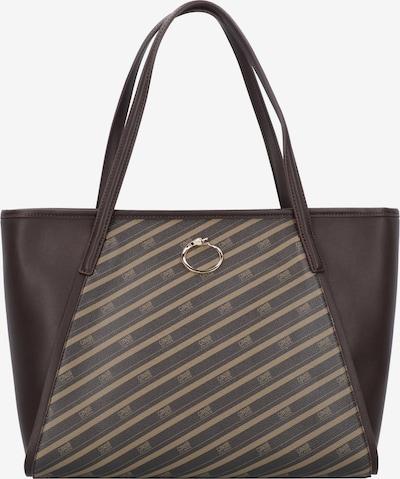 roberto cavalli Monogram Shopper Tasche 34 cm in braun, Produktansicht