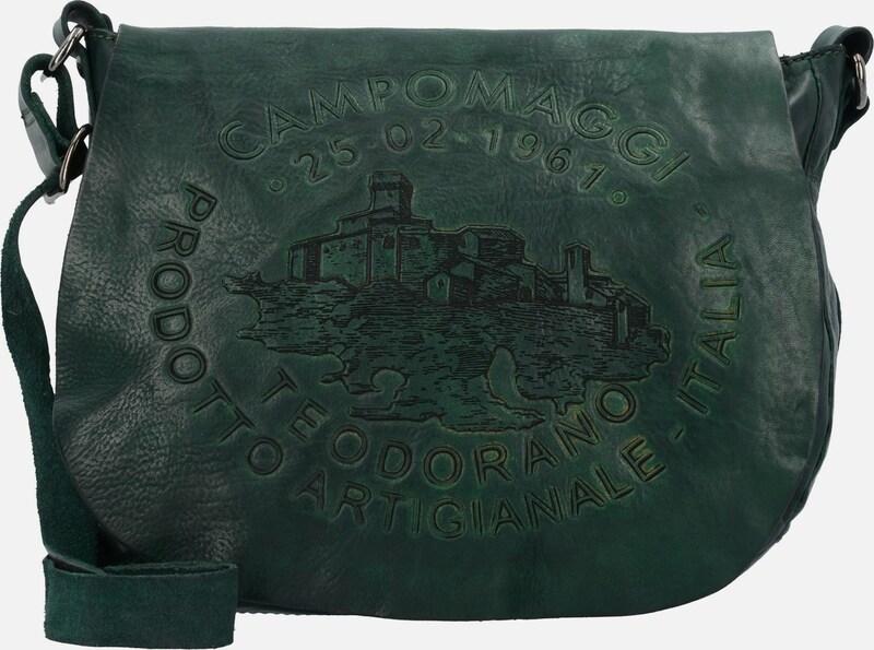 Campomaggi Bandoliera Schultertasche Leder 28 cm