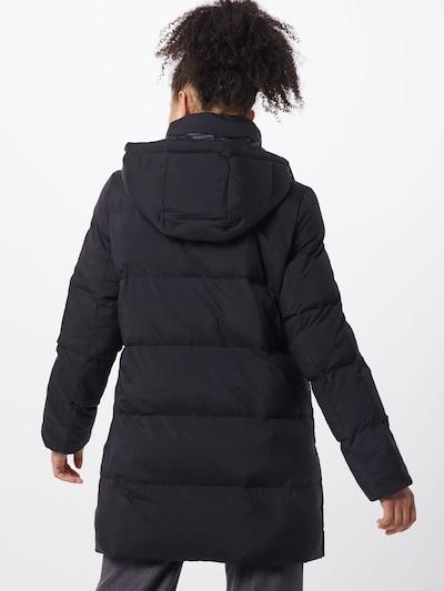 OPUS Mantel 'Harine' in schwarz: Rückansicht