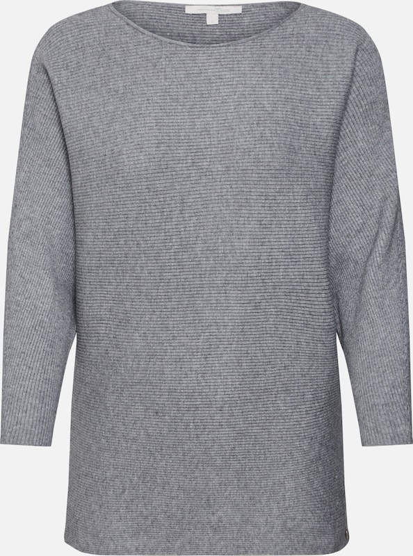 TOM TAILOR DENIM Sweater in graumeliert, Produktansicht