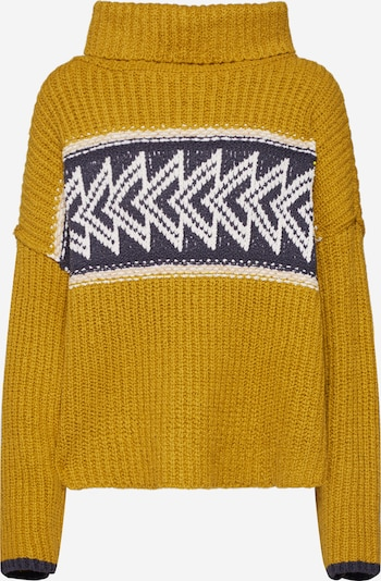 Free People Pull-over oversize 'GREATER THAN SWEATER' en jaune, Vue avec produit