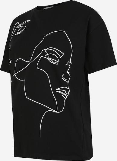 MAMALICIOUS Tričko - čierna / biela: Pohľad spredu