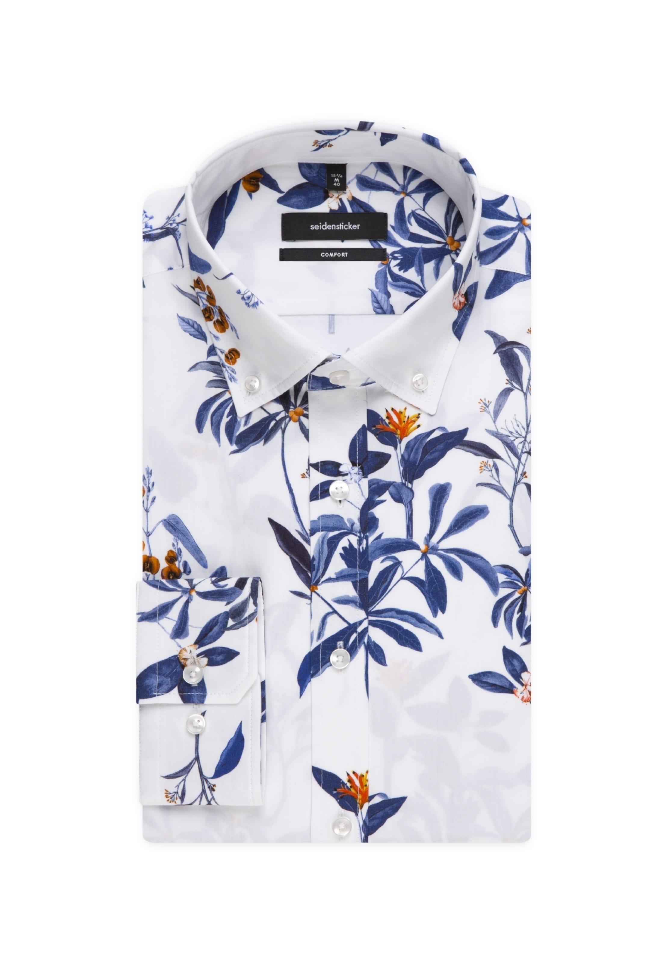 Seidensticker BlauBronze Hemd In BlauBronze Weiß Hemd Seidensticker In Weiß hQtsrdC