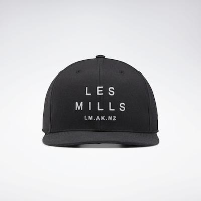 REEBOK Sportpet 'Les Mills' in de kleur Zwart / Wit, Productweergave