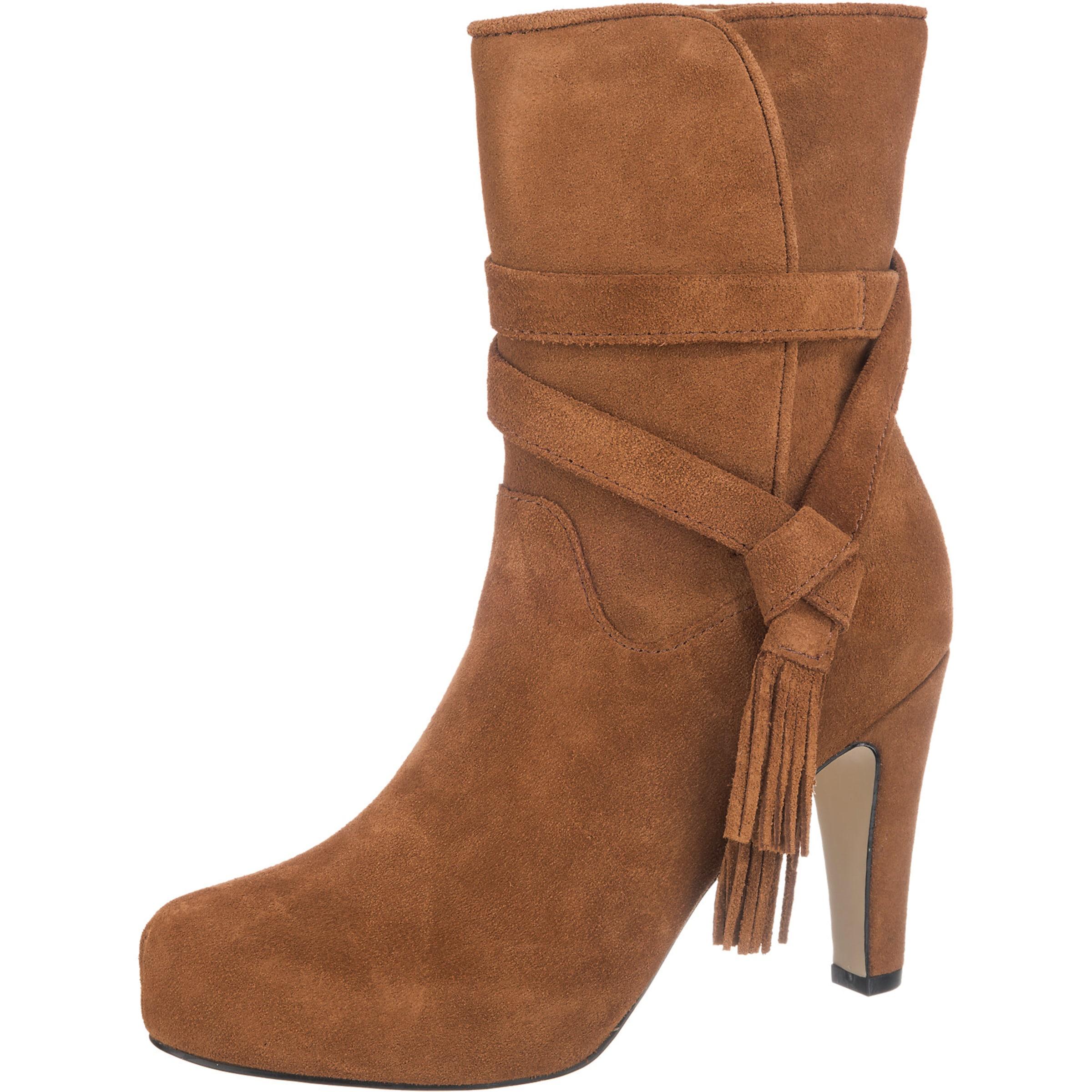BUFFALO Stiefel mit Fransen-Detail Verschleißfeste billige Schuhe