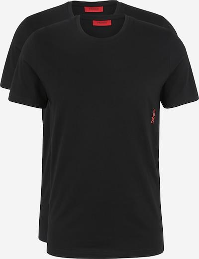HUGO T-Shirt in schwarz, Produktansicht