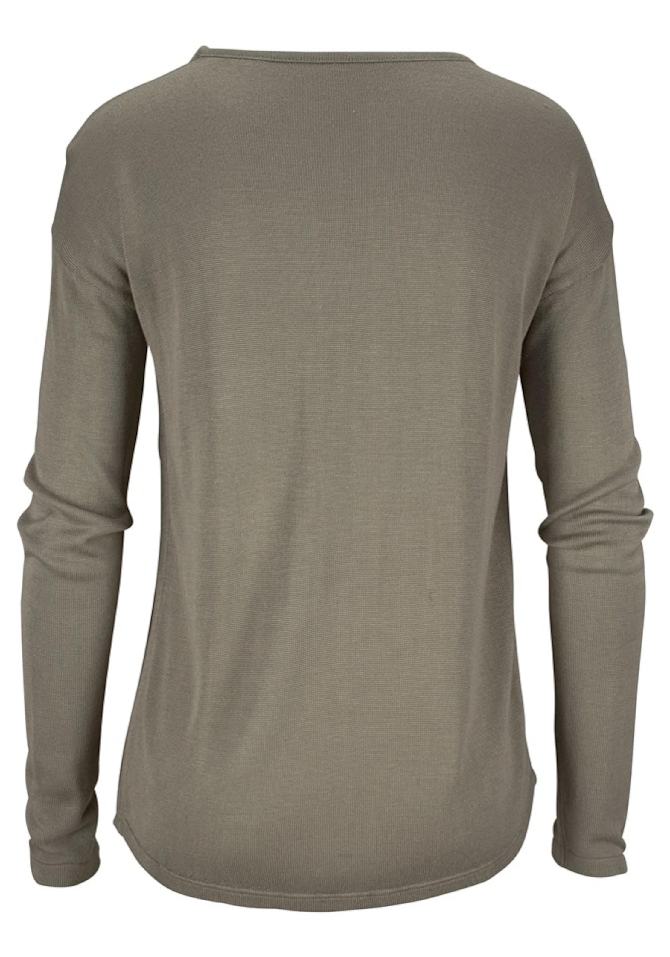 LASCANA Pullover in khaki