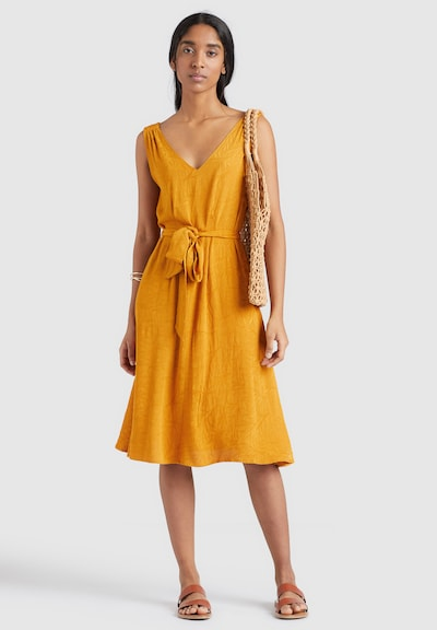 khujo Kleid ' SPRING ' in gelb, Modelansicht