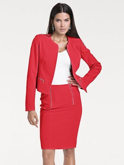 heine Blazer in rot, Modelansicht