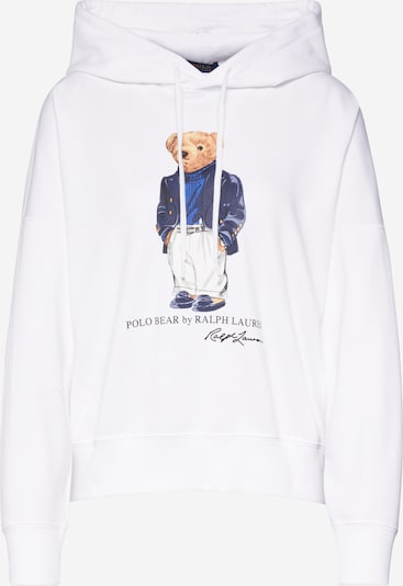 POLO RALPH LAUREN Sweatshirt in de kleur Wit, Productweergave