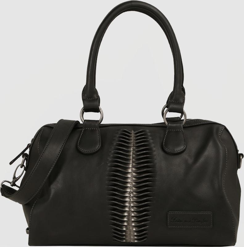 fritzi aus preu en handtasche 39 carmina 39 in schwarz about you. Black Bedroom Furniture Sets. Home Design Ideas