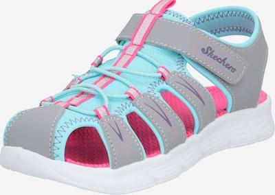 Sandalai iš SKECHERS , spalva - turkio spalva / pilka / rožinė, Prekių apžvalga