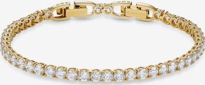 Swarovski Armband 'Tennis Deluxe' in gold / transparent, Produktansicht