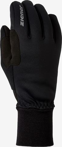 ZIENER Athletic Gloves 'Bike Gore' in Black