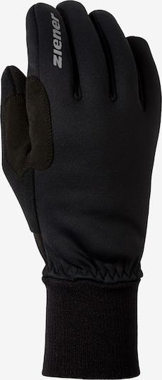 ZIENER Fahrradhandschuhe 'Bike Gore' in hellgrau / schwarz, Produktansicht