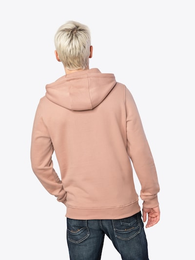 Urban Classics Sweatshirt 'Basic Sweat Hoody' in rosé: Rückansicht