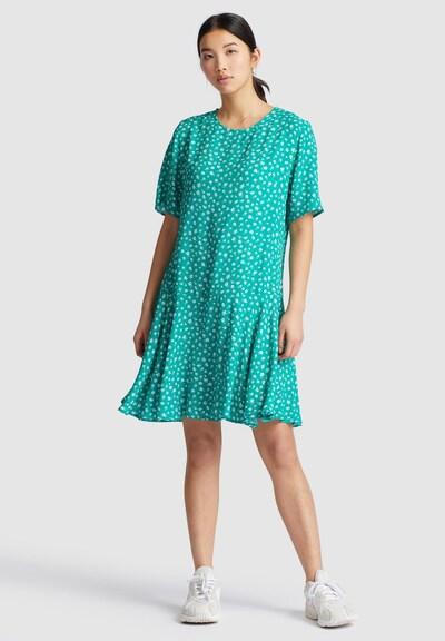 khujo Kleid ' AVARU ' in grün / weiß, Modelansicht