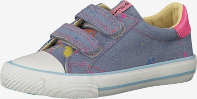 s.Oliver Junior Sneakers in blau / pink, Produktansicht