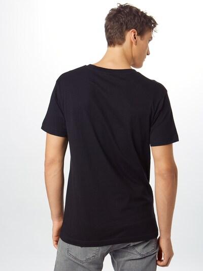 Mister Tee T-Shirt 'Waterpaint Skull Tee' in schwarz / weiß: Rückansicht