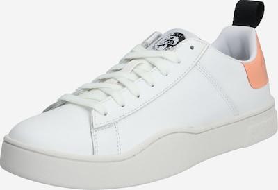 DIESEL Sneakers laag 'S-CLEVER LOW LACE' in de kleur Perzik / Wit, Productweergave
