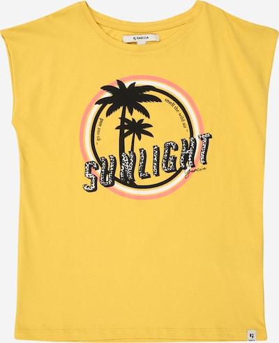 GARCIA T-Shirt in gelb, Produktansicht