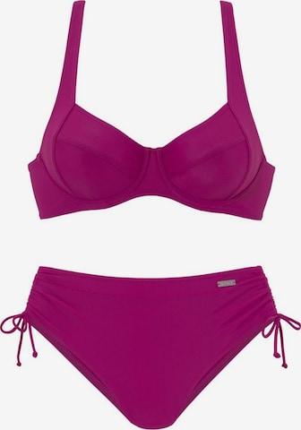 LASCANA Bikini in Pink