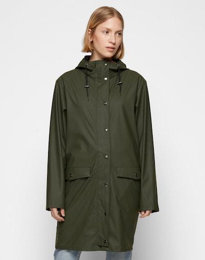 mbym Regenmantel 'Fabiola' in khaki, Modelansicht
