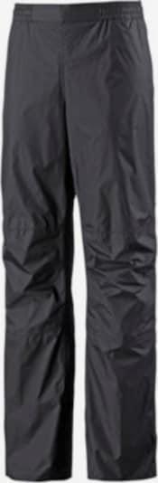 VAUDE Regenhose 'Drop II' in schwarz, Produktansicht