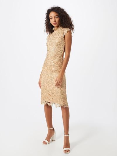 Forever Unique Společenské šaty 'RIVET' - zlatá, Model/ka