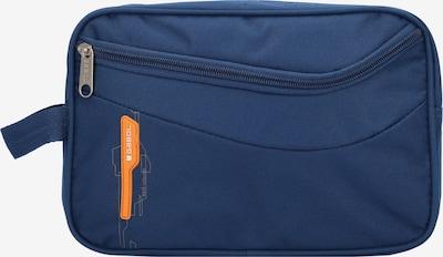 Gabol Kulturbeutel 'Week' in blau / orange, Produktansicht
