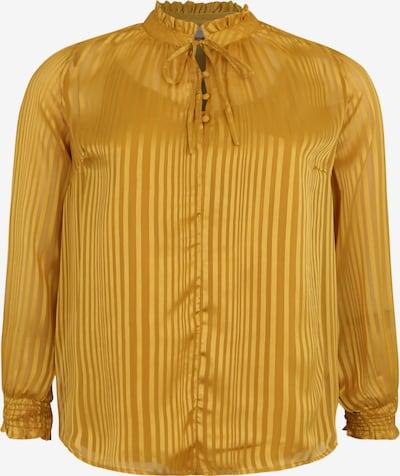 ONLY Carmakoma Chemisier 'FIA' en jaune d'or, Vue avec produit