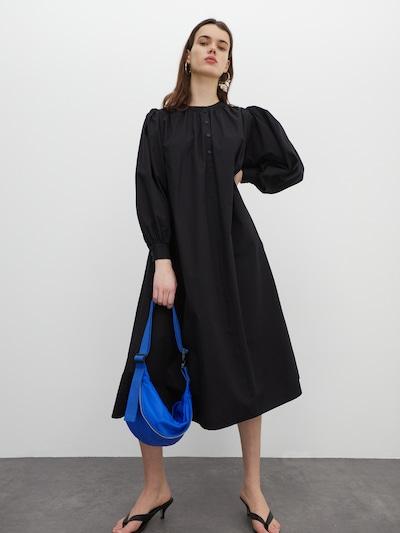 EDITED Kleid 'Zilan' in schwarz: Frontalansicht