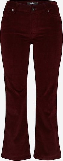 7 for all mankind Broek 'CROPPED BOOT' in de kleur Bordeaux, Productweergave